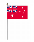 Australia Red Ensign Hand Flag - Small.